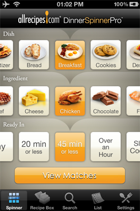Allrecipes app