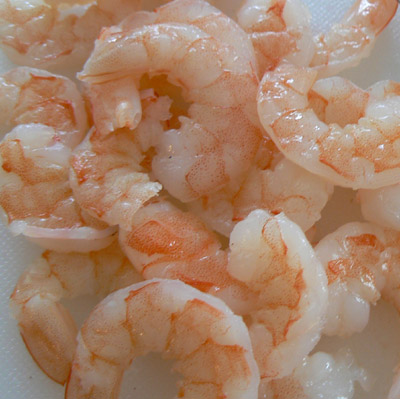 shrimp for Vietnamese salad roll
