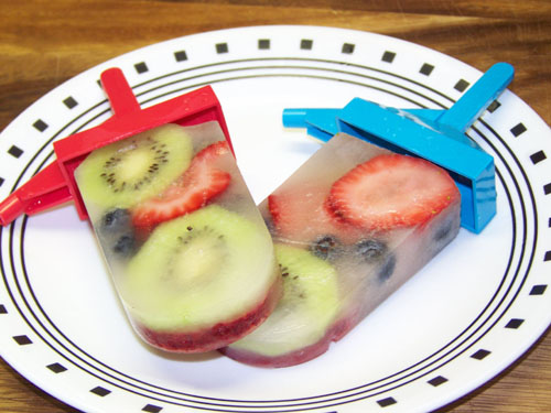 fruit popsicles homemade