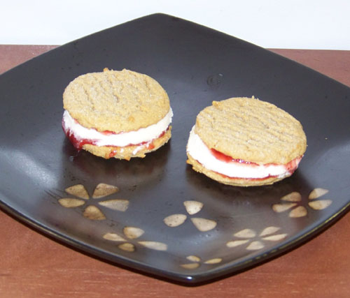 peanut butter & ice cream sandwich recipe