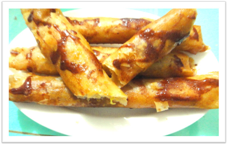 Turon (fried banana roll) recipe Filipino style