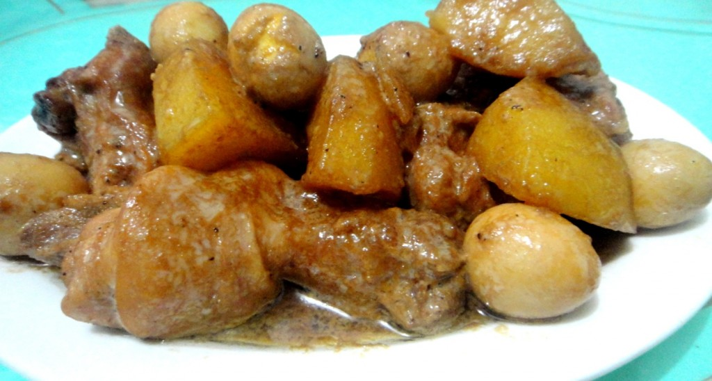 Chicken adobo (Adobo sa Gata)