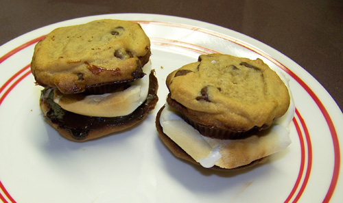 frozen s'mores recipe