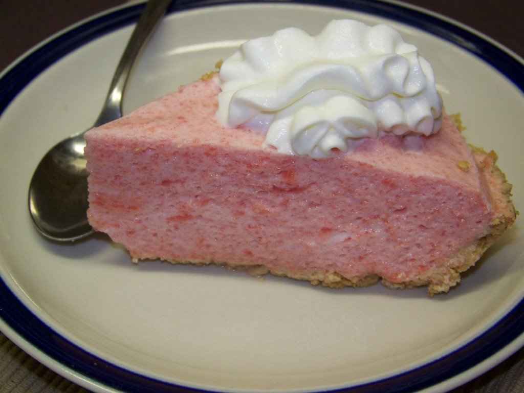 watermelon chiffon pie