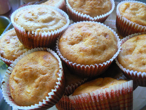 corn bread muffins with real corn