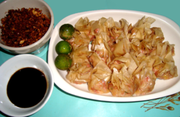 corned beef siomai