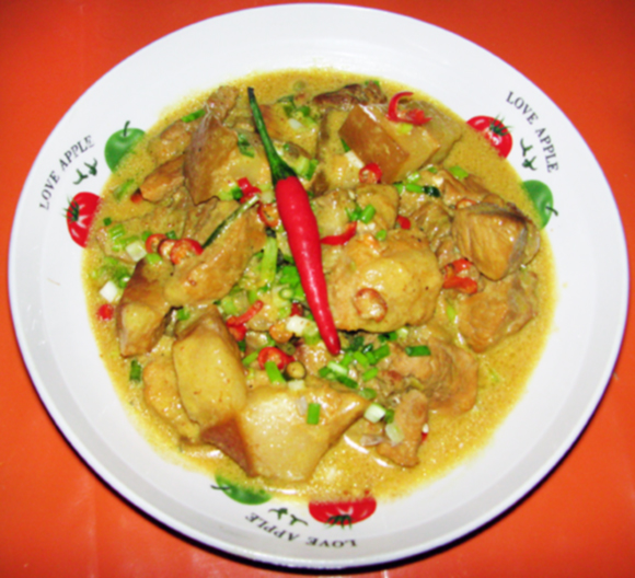 curry bicol express