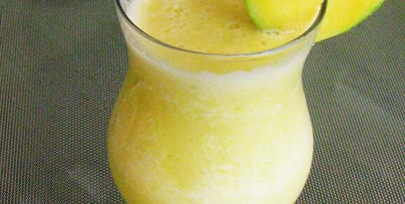 Fresh Green Mango Shake Recipe