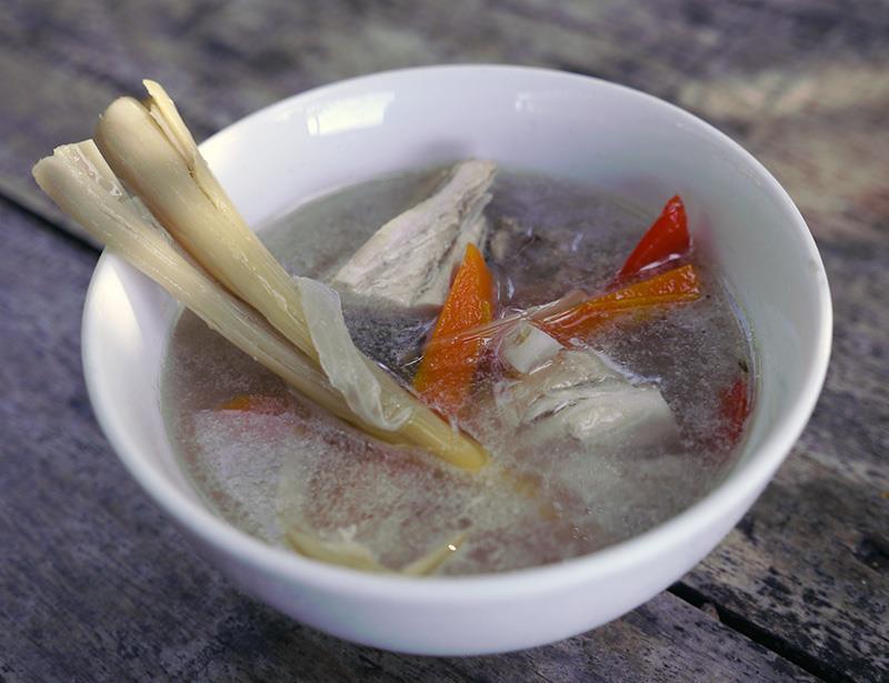 halang halang chicken soup